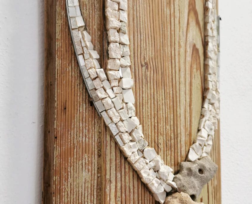 Rossella Casadio mosaico Piccole Corna mosaico artistico