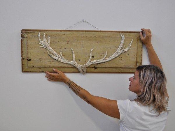 12-2020 Rossella Casadio corna bianche