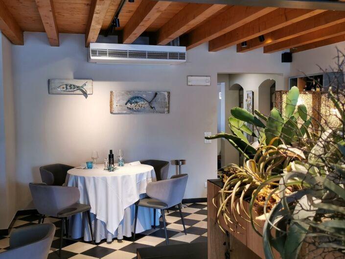 Rossella Casadio pesci mosaico artistico moderno decorazione parete immagini mosaico