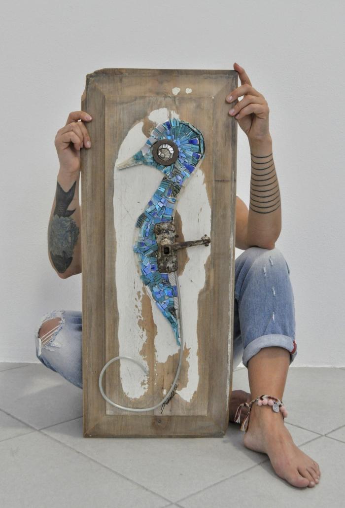 11-2021 Rossella Casadio Blue Seahorse
